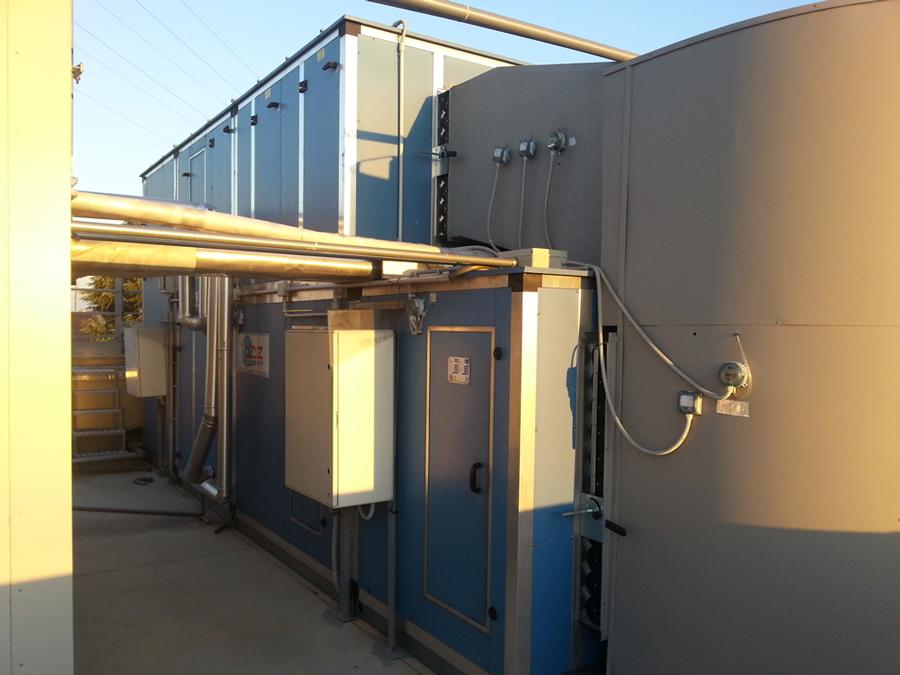 Unità di trattamento aria da 24.000 mc/h