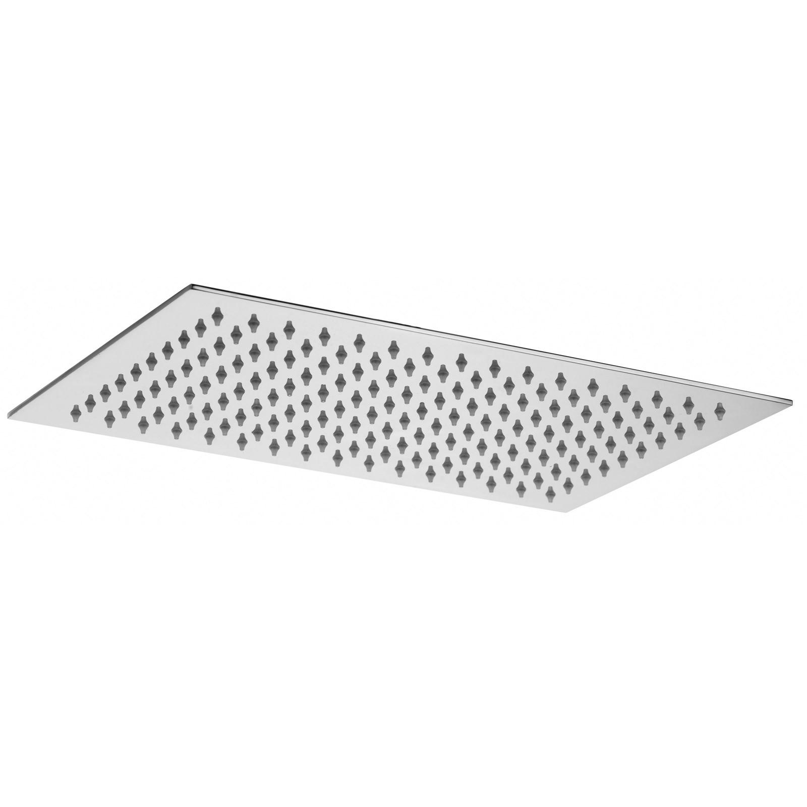 Soffione doccia rettangolare 34×22 cm